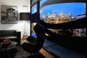 Апартаменты с видом на Барселону