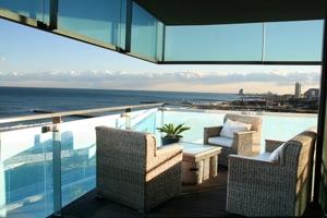 Apartments seaview/Апартаменты Барселона с видом на море