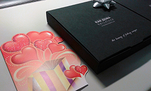 st valentine original gift and card
