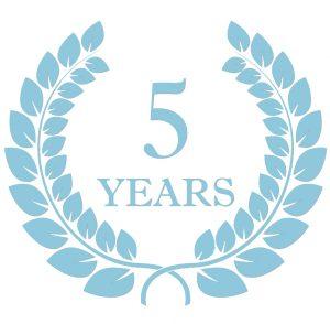 KD 5 years