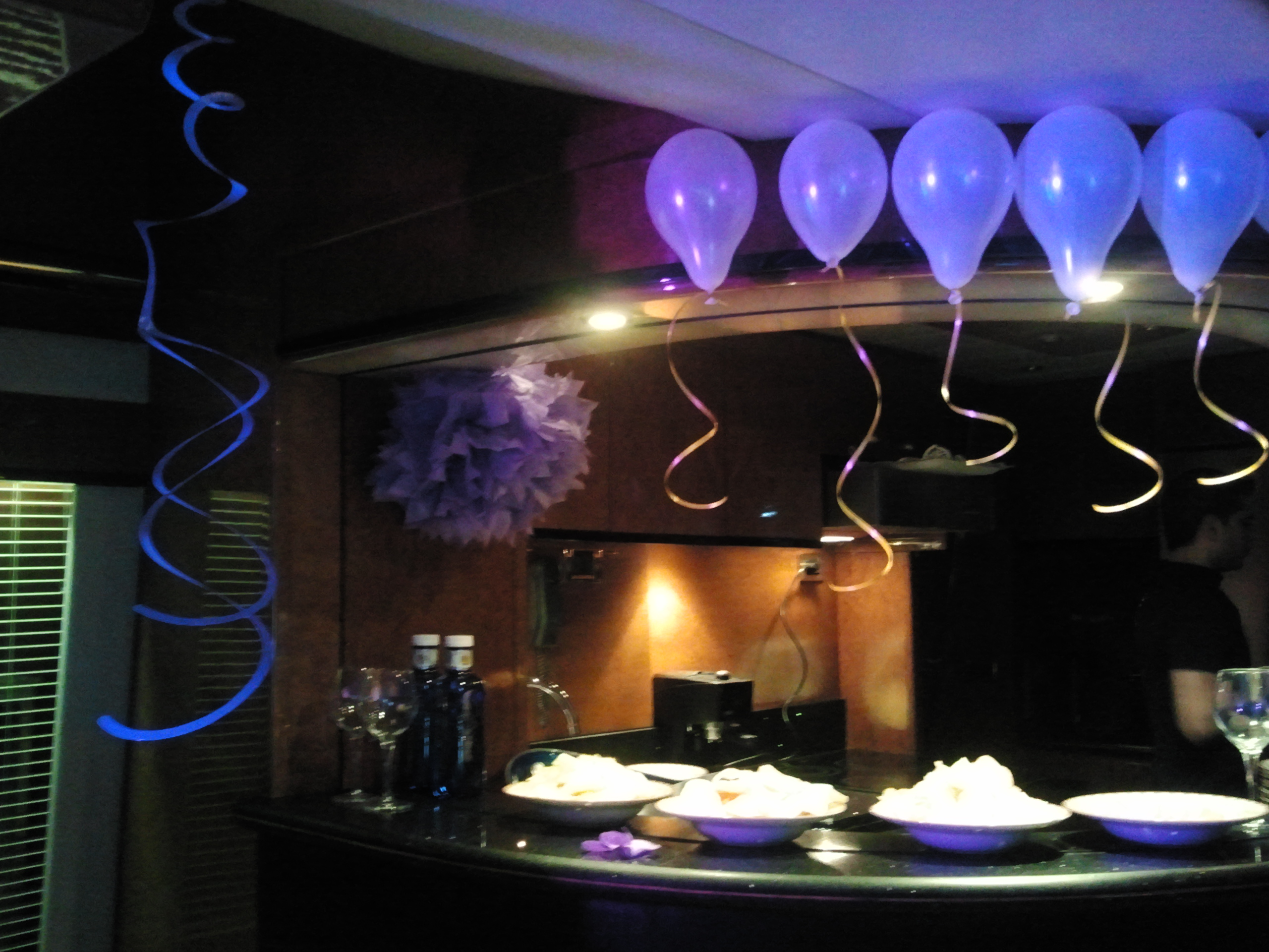 Balloon Decorations for yacht parties