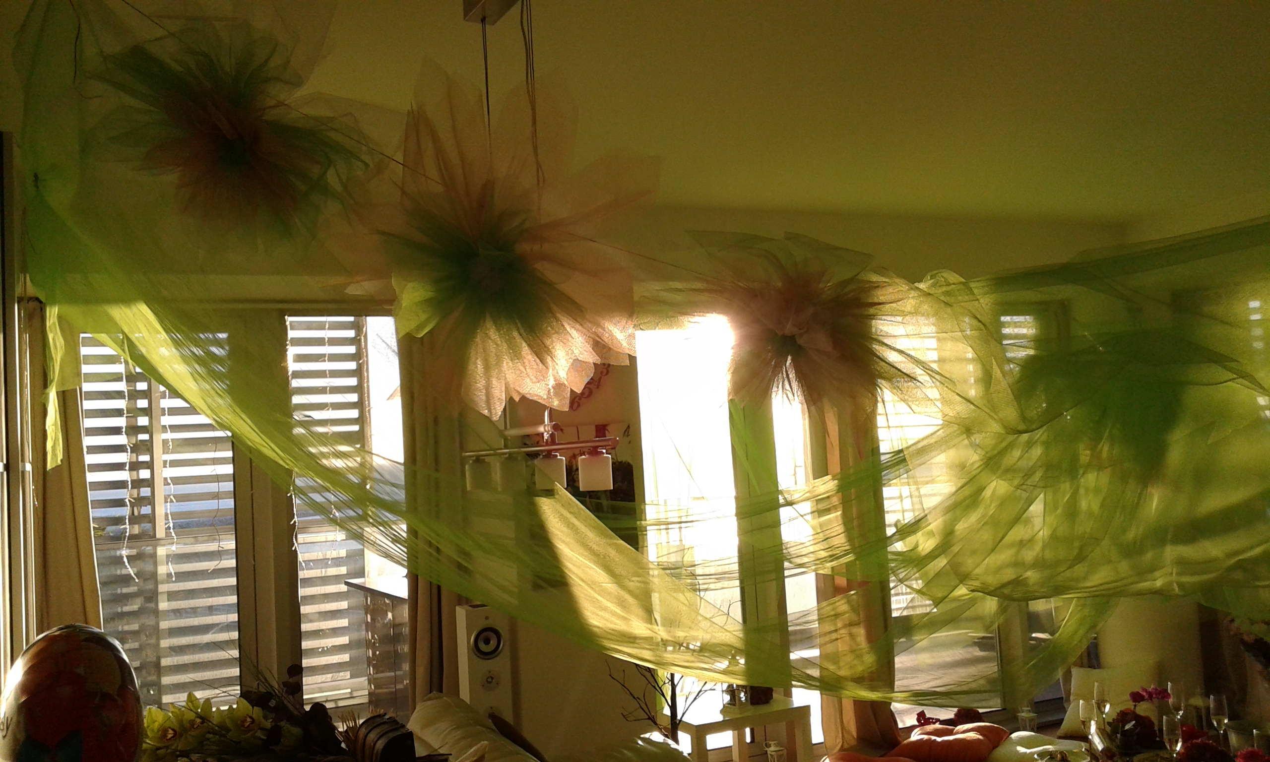 Tulle Decorations for parties