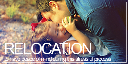 Relocation, to have peace of mind during this stressful process