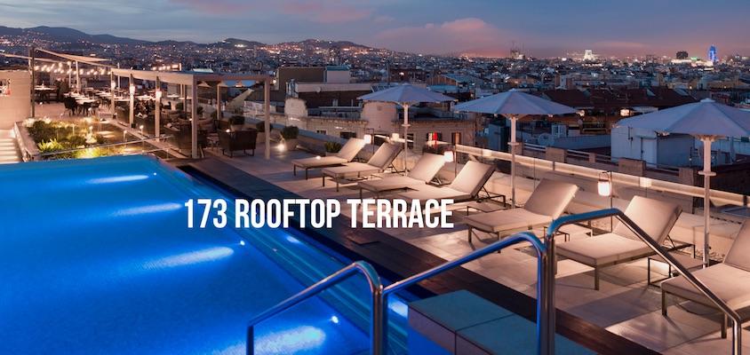 Rooftop bars Crowne Plaza