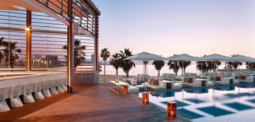 Rooftop bars WET Barcelona