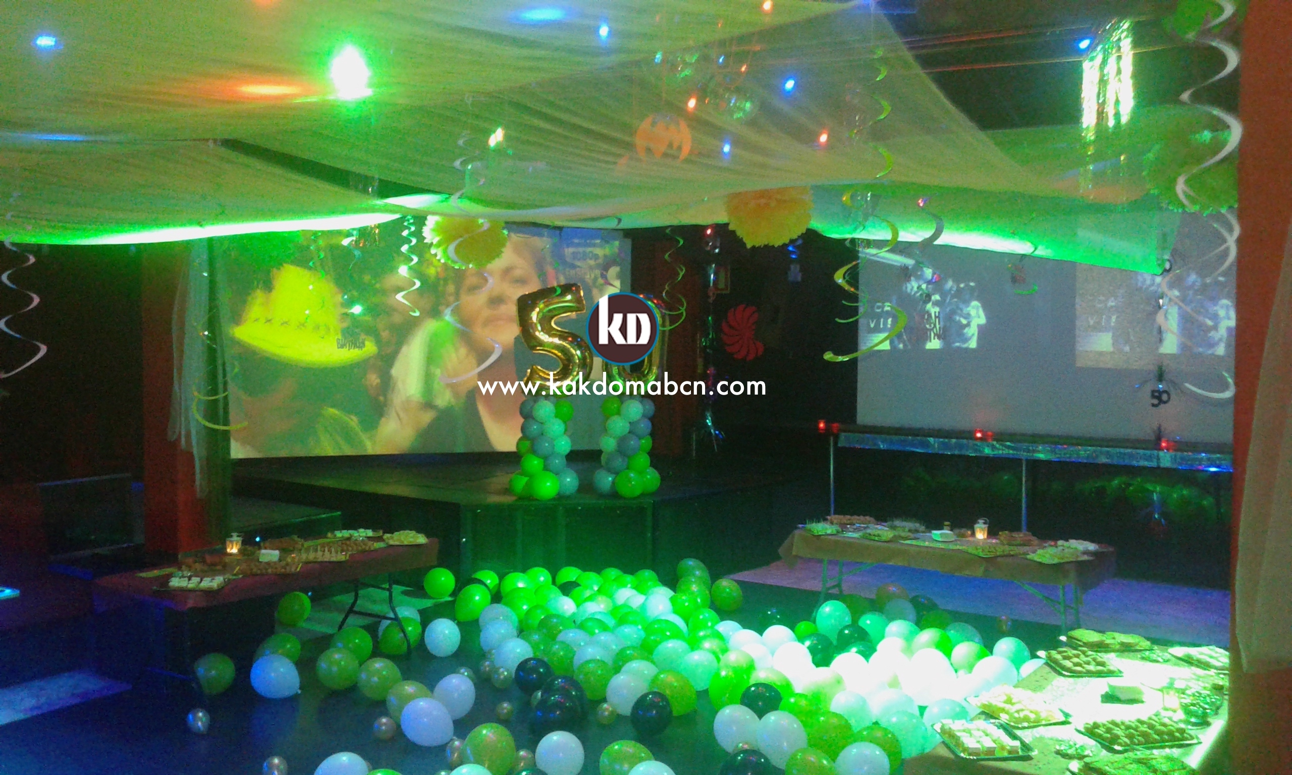 events decorations